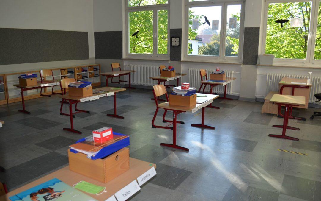 Schulöffnung für die Jahrgänge 1 – 3